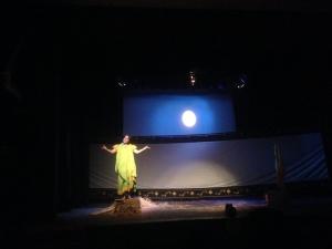 Momena Chowdhury of Shunyon Repertory Theater