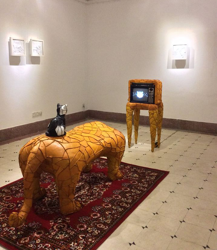 Solo Art Exhibition 'Tigers Still Pass at TigerPass'