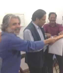 Alam Khorshed, Dr. ShahaduZzaman, Prof. Shishir Bhattacharjee